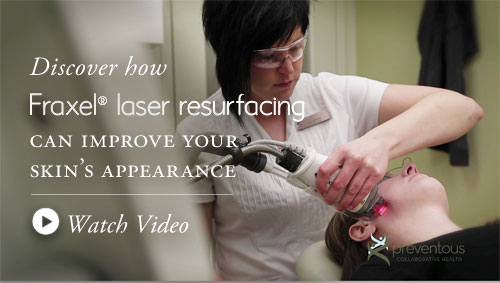 Discover Fraxel laser resurfacing