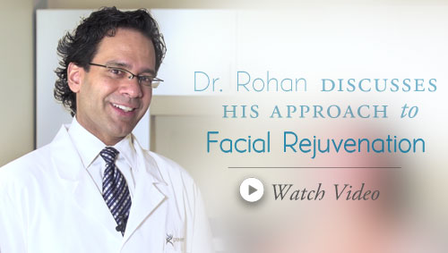 Dr Rohan discusses his approach to Facial Rejuvenation