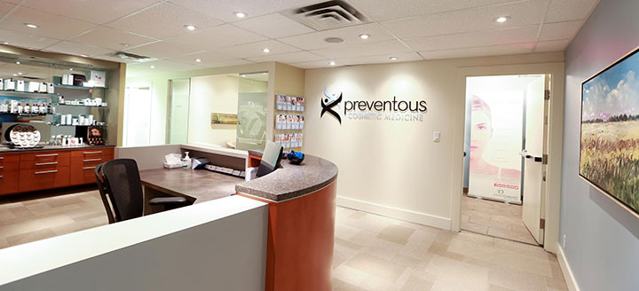 Preventous reception area